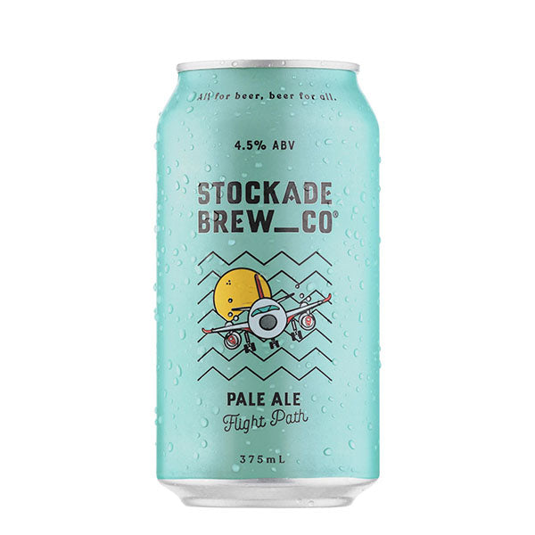 Stockade Brew Co Flight Path Pale Ale Cans 375ml