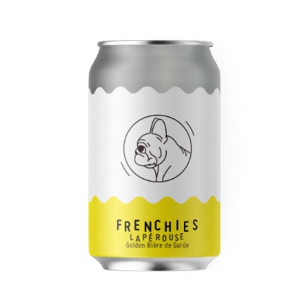 Frenchies Brewery Laperouse Golden Biere de Garde Beer Cans 330ml - Pack of 16
