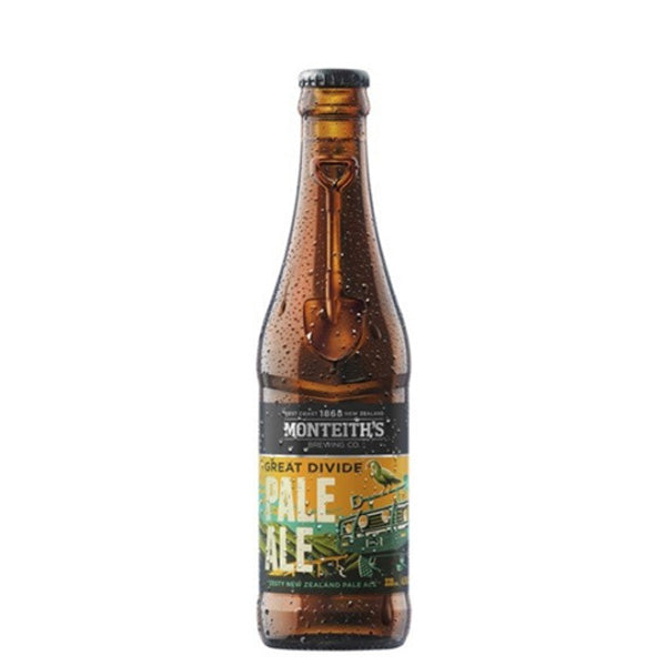 Monteiths Great Divide Pale Ale Bottle 330mL