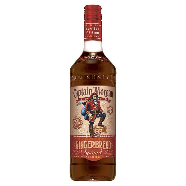 Captain Morgan Limited Edition Gingerbread Spiced 700ml