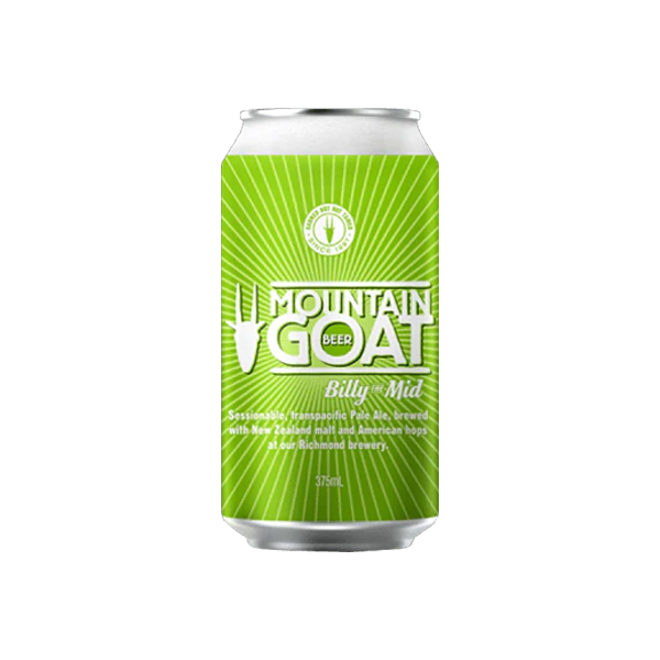 Mountain Goat Billy the Mid Session Ale Cans 375ml
