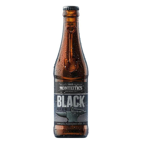 Monteith's Black Beer 330ml - Pack of 24