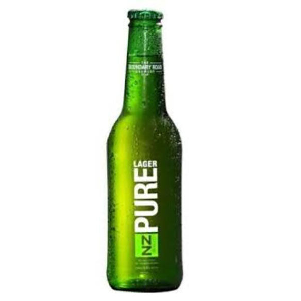 Nz Pure Beer Bottle 330Ml - Pack Of 24 Bottles