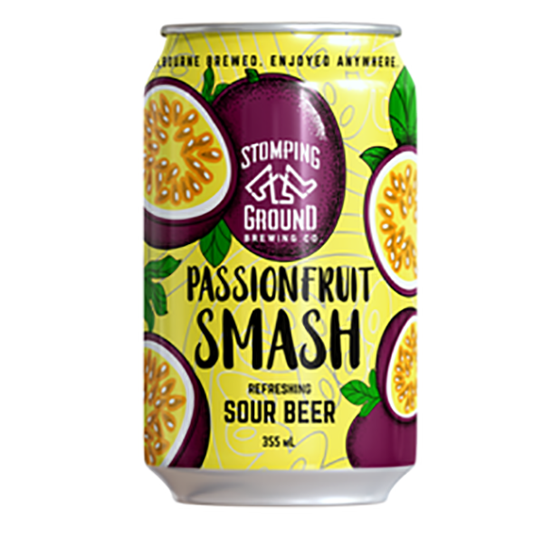 Stomping Ground Passionfruit Smash Sour Beer Cans 355ml