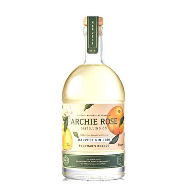 Archie Rose Harvest Gin 2019 Poorman's Orange Gin 700ml