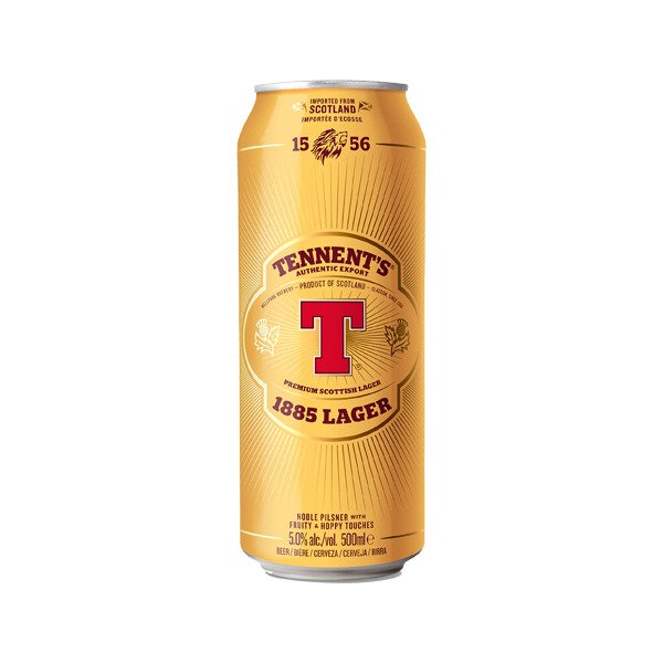 Tennents Lager Cans 500ml