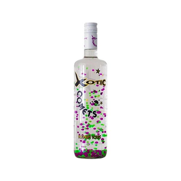 Xotic Comets Grape Vodka Bottle 750ml