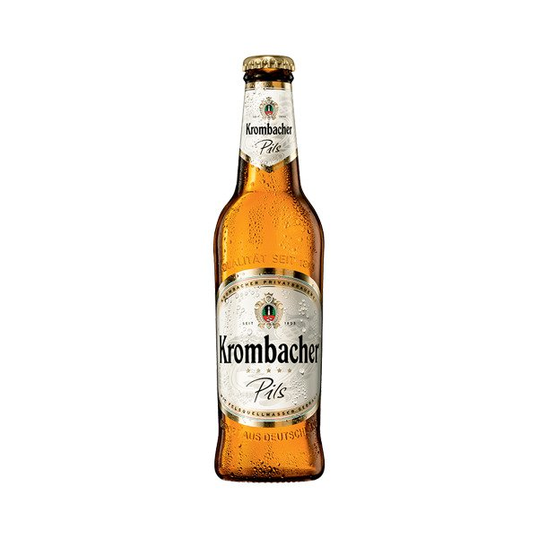 Krombacher Premium Pilsner Beer Bottles 330ml - Pack of 12