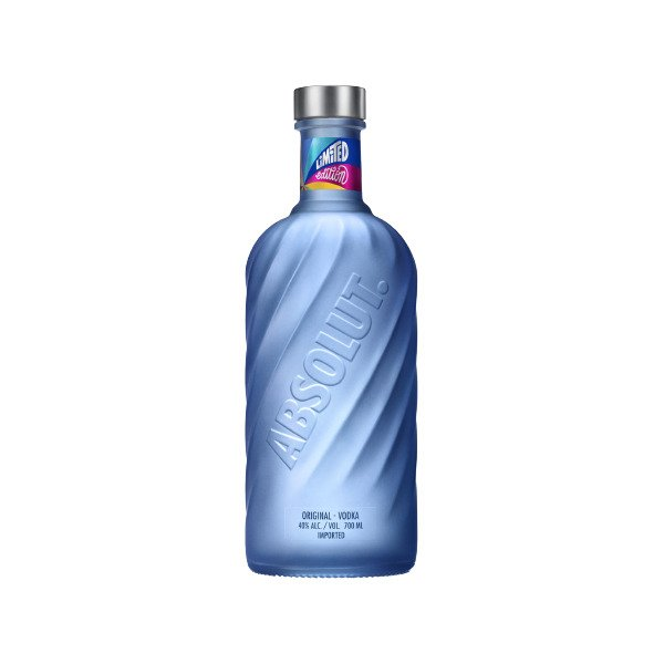 Absolut Movement Limited Edition Vodka Bottle 700ml