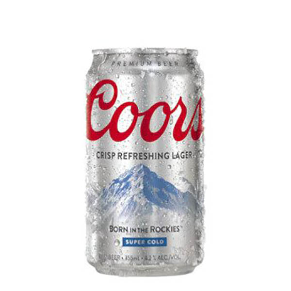 Coors Lager Cans 355mL