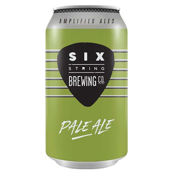 Six String Pale Ale Cans 375 ml - Pack of 24
