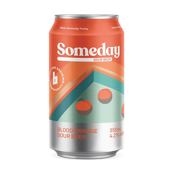 Someday Sour Blood Orange Cans 355ml