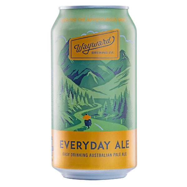 Wayward Brewing Co Everyday Ale Cans 375ml