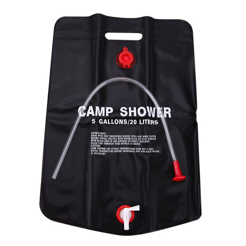 5 Gallon Outdoor Portable Shower  | Just Add Water