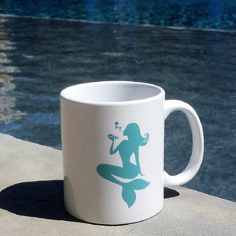 OceanTokes Mermaid 11oz. Ceramic Coffee Mug