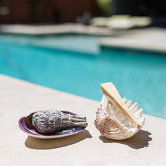 Clam Incense Tray