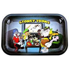"Stoney Toons Rolling Tray - Small 10.5"" x 7"""