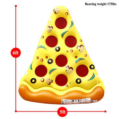 Giant Inflatable Pizza Slice Jumbo Raft
