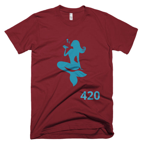 OceanTokes 420 Jersey Style Short-Sleeve T-Shirt (Color Options Available)