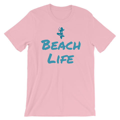 "OceanTokes ""Beach Life"" Short-Sleeve Unisex T-Shirt (Color Options Available)"