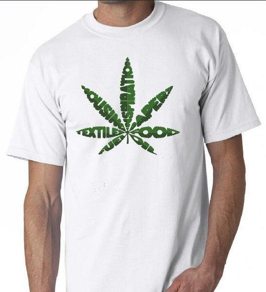 Pot Leaf Graphic Tree