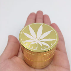 Aluminum Alloy 4-Layer 40mm Herb Tobacco Grinder (Style Options Available)