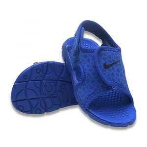 Blue Camouflage Sandals