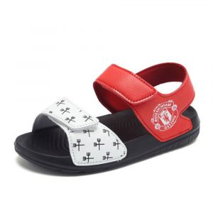 Manchester United Red & White Sandals