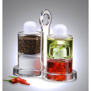 Spice twin tower 4 Self Stacking Spice Bottles