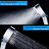 Handheld Shower Head, High Pressure Showerhead with Double Sided Spray & Free Filling Design | 24HOURS.PK
