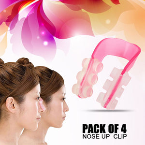Pack of 4 - Nose up Bridge Shaping & Straightening Beauty Clip (015) | 24HOURS.PK