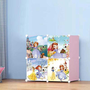 4 Cube Princess Storage Cabinet | 24hours.pk