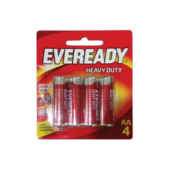 BATTERY ZINC EVEREADY AA4