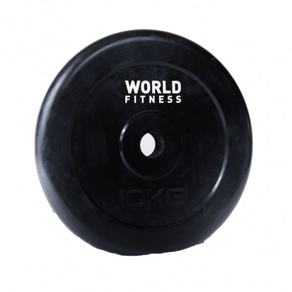 World Fitness Rubber Plate 10Kg RBD-38(ONLY FOR KARACHI)