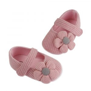 Steperz Peach Flower Jersey Prewalker (With Socks)