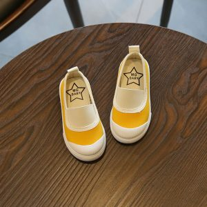 Pumpy Shoes Yellow