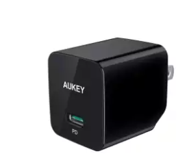Aukey PA-Y18 - Power Delivery Wall Charger - 18W