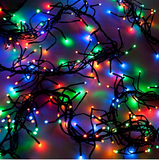 Pack of 2 Party  Home Decorations 100 LED Multi-Color Lights | 24hours.pk