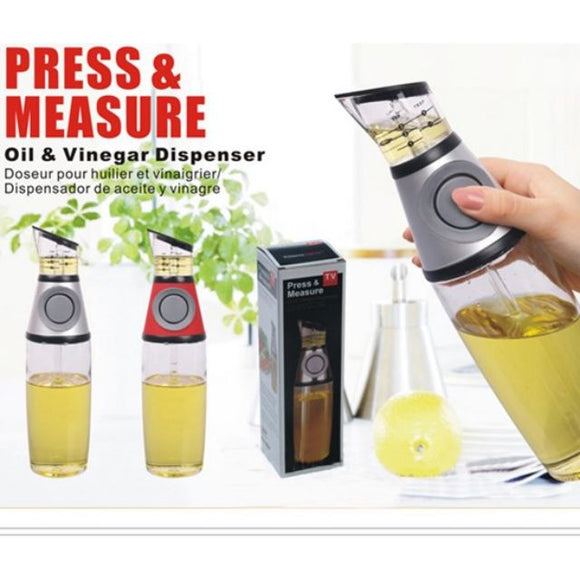 Baking Glass Olive Oil Empty Bottle Vinegar Bottle Oil Dispenser