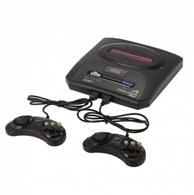 Sega Mega Drive 2 Video Game with Console 16 Bit Retro Handheld Game Player 5 Games Inside | 24HOURS.PK