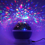 Star Moon Light Rotating Projector Lamp | 24hours.pk