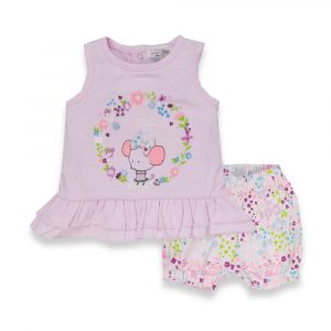 Minoti Girls 2pc Vest & Short set