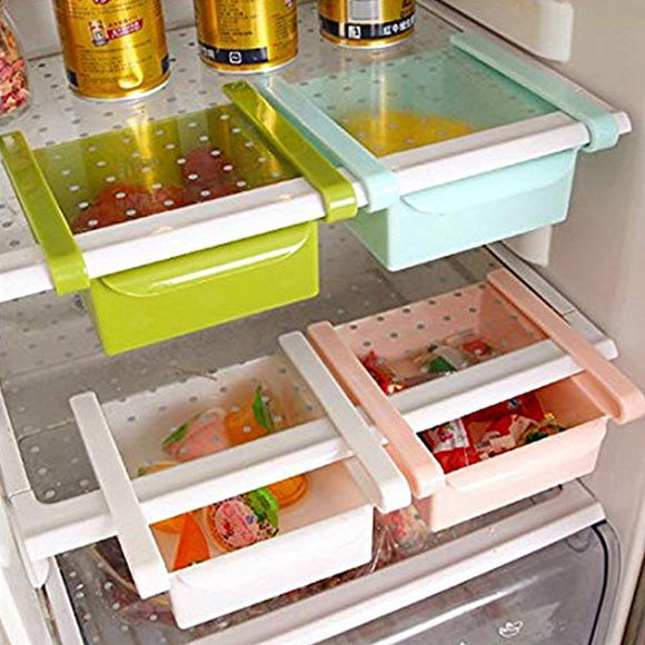 Pack of 3 Fridge Storage Rake Freezer Food Storage Box (2004) | 24hours.pk