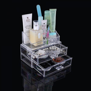 Cosmetic Storage 2 Drawers | 24HOURS.PK
