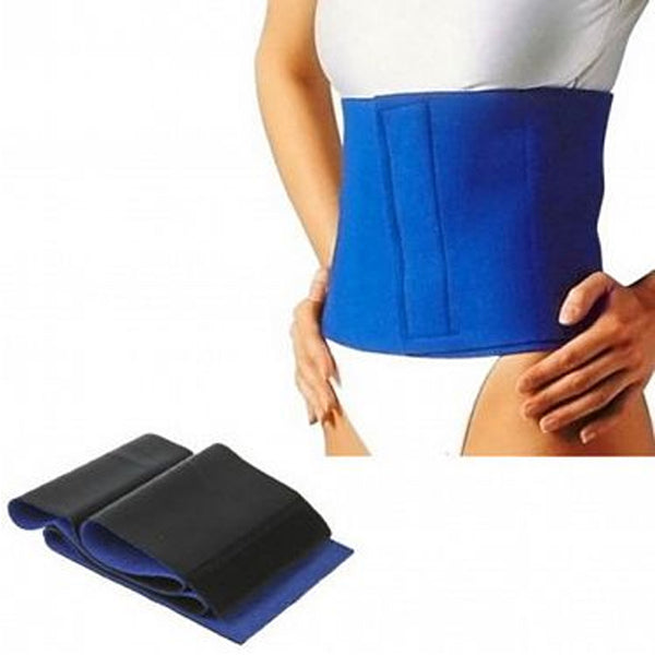 Slimming Exercise Waist Sweat Belt Wrap Fat Burner Body Neoprene Cellulite | 24HOURS.PK