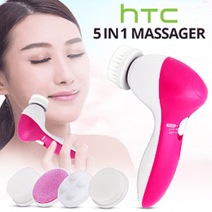 Professional 5 in 1 Beauty Face Care Massager | 24hours.pk