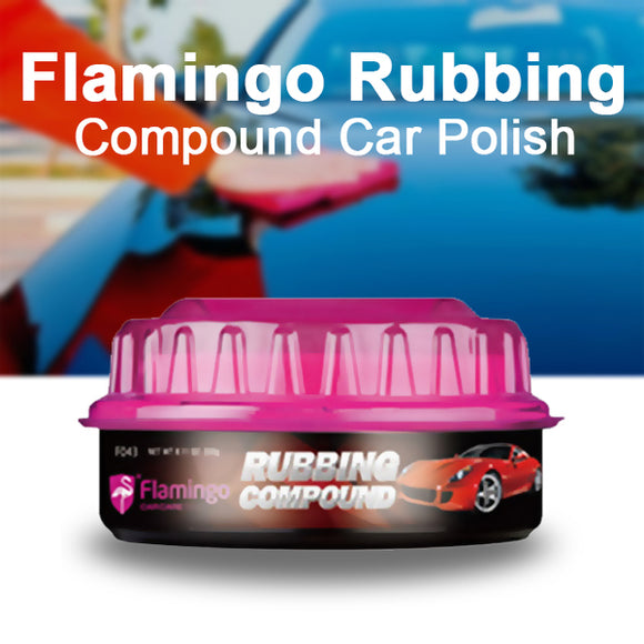 Pack Of 2, Flamingo Rubbing Compound Car Polish  230 g | 24HOURS.PK