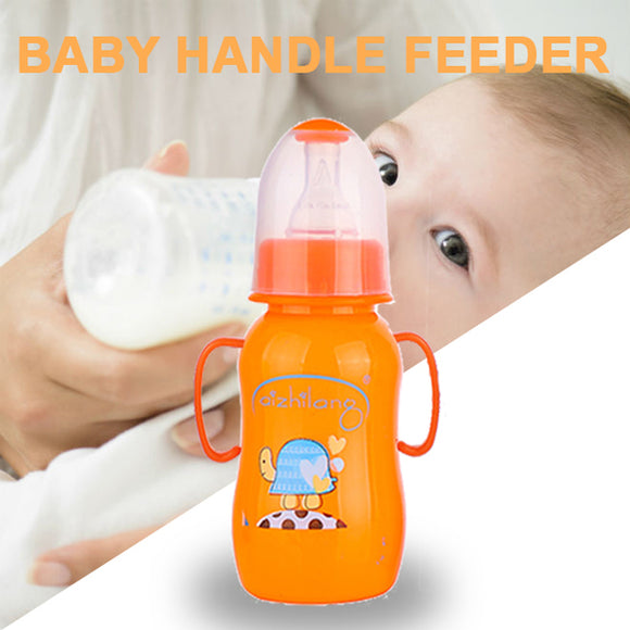 Pack of 2 Baby Feeding Bottle Milk Bottle Orange | 24HOURS.PK