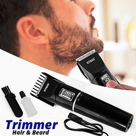 Rechargeable Cordless Hair & Beard Trimmer 3Watts | 24HOURS.PK