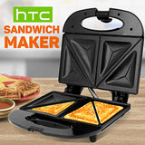 2 Slice Non-Stick Coated Plate Sandwich Maker | 24HOURS.PK
